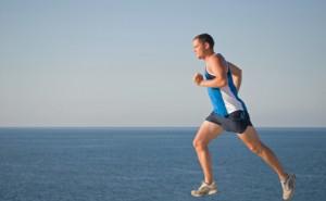 Løpende mann