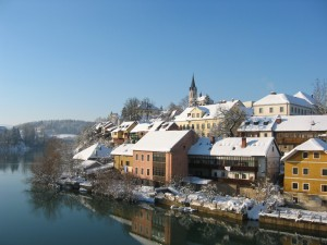 Reform skal bidra til gode tiltak for å gi slovenske menn en tetteter tilknytning til hjem og barn. Her fra byen Nove Mesto. Foto: Wikipedia